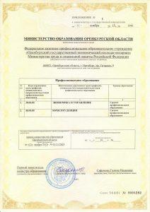 Cвидетельство о государственной аккредитации (с приложением) - 02
